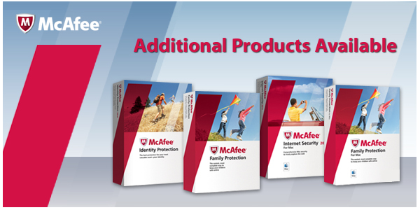 Additional Products Available