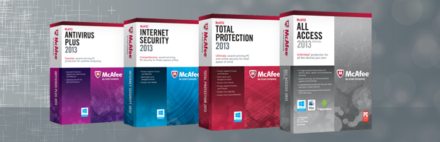 McAfee Top Products
