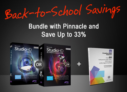 Back-to-school Savings | Bundle with Pinnacle and Save Up to 33%