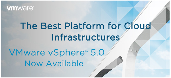 The Best Platform for Cloud  Infrastructures | VMware vSphere™ 5.0 Now Available