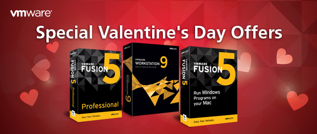VMware | Special Valentine's Day Offers