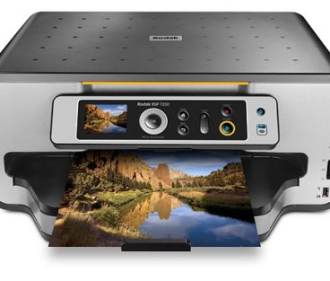 ESP 7250 printer front view, Kodak Printer ESP