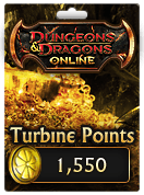 Dungeons & Dragons Online™ 1,550 Turbine Point Code