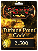 Dungeons & Dragons Online™ 2,500 Turbine Point Code