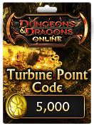 Dungeons & Dragons Online™ 5,000 Turbine Point Code