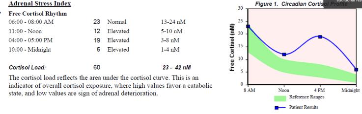 adrenal stress index