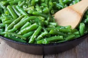 Green Beans with Roasted Fennel 2
