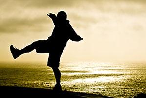 balance healthy living message