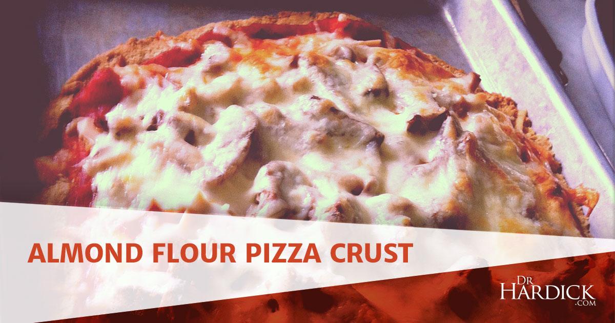 Almond Flour Pizza Crust Grain Free Recipe DrHardick