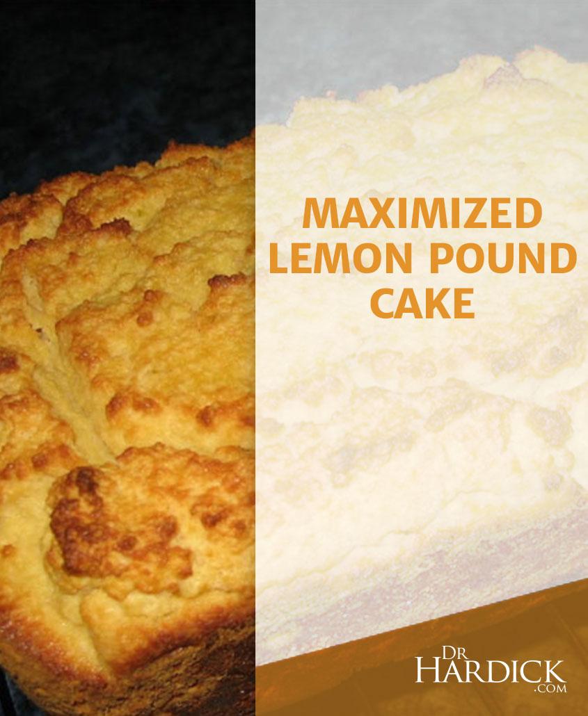 Maximized Lemon Pound Cake