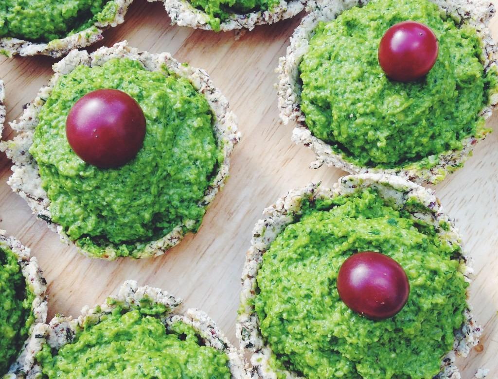 Raw Vegan Paleo Green Quiche
