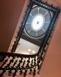 Staircase and cupula at the Royal Society of Edinburgh