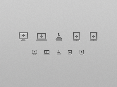 Save Icon Set by Tyler Murphy