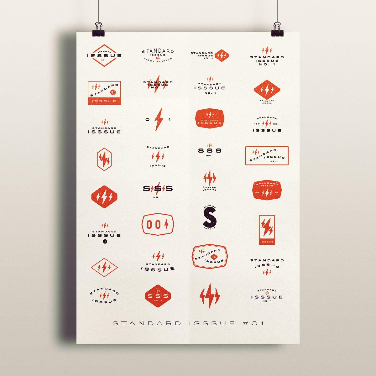 standard isssue no.1 Graphic Design Inspiration