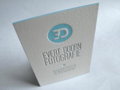 evert business card Business Card #1   20 cartes de visite avec effet papier