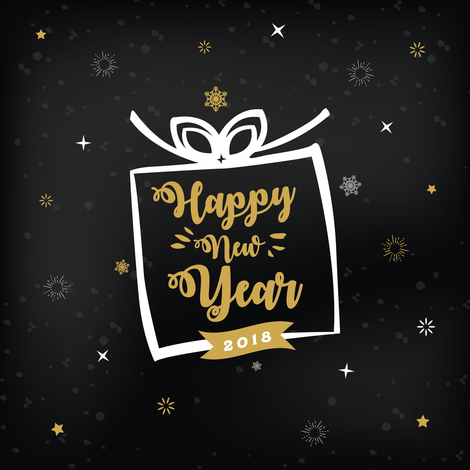 4 Free New Year Greeting Card Templates   Dribbble Graphics     Free New Year Greeting Card Templates 01