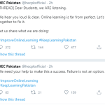Online classes and shame on HEc