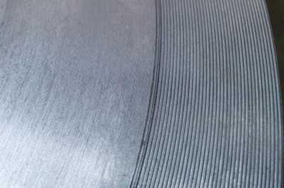 serat permukaan flange