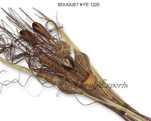 Dried Exotics Bouquet - Dried Bouquets Wholesale
