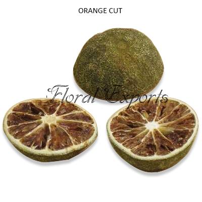 Dried Orange Half cut - Wholesale Dried Decorative Fruits