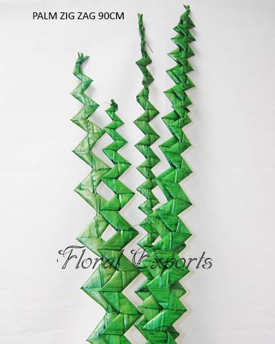 Palm Zig Zag 90cm Colour