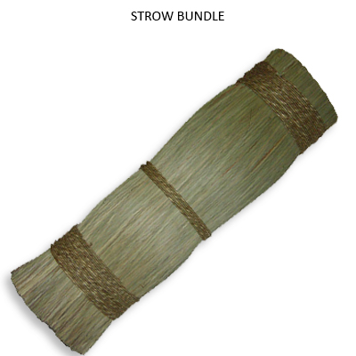 Straw Bundle Natural