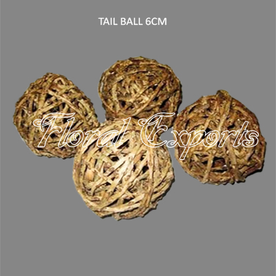 Tail Ball 6cm - Wholesale Decorative Balls Fillers