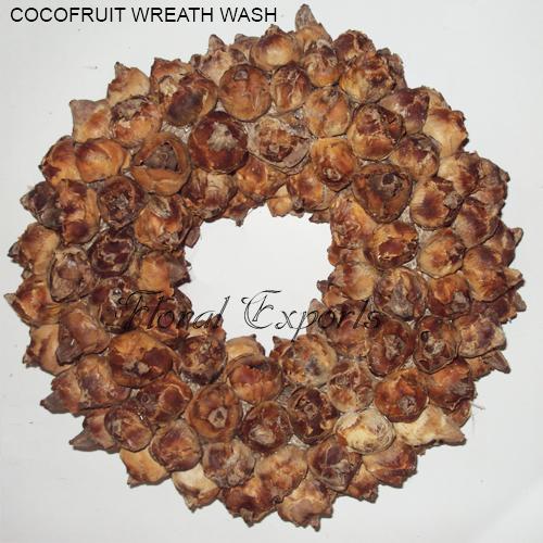 Coco Fruit Wreath Wash - Christmas Wreath Decorations