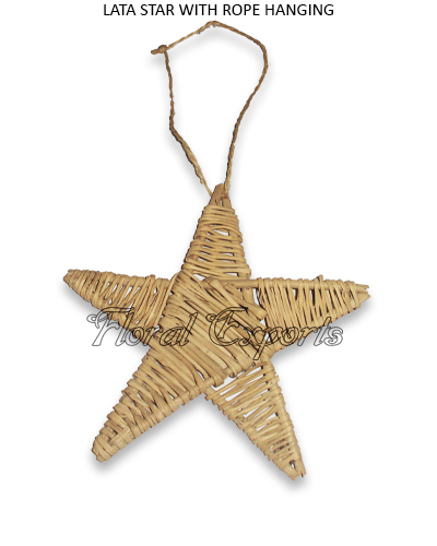 LATA STAR WITH ROPE HANGING - Macaw Rope Swing