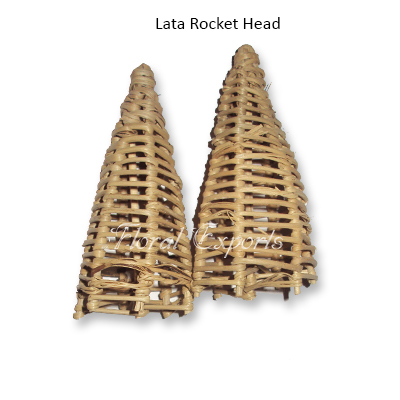 Lata Rocket Head - Natural Bird Toys Wholesale