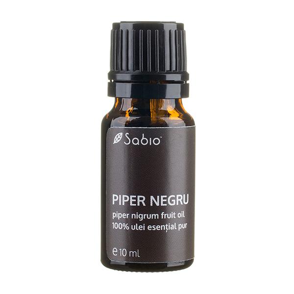 Ulei esential pur de piper negru SABIO COSMETICS - 10 ml