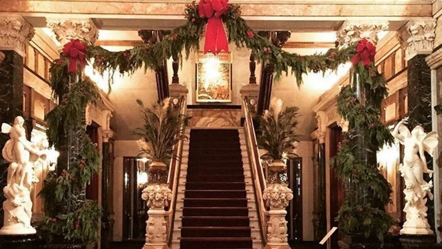 Image result for driehaus museum pictures christmas