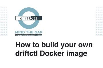 how to build driftctl docker image