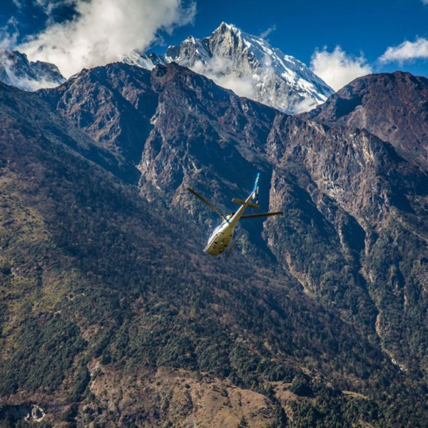 Drifters Guide Himalaya Helicopter Experience Tour