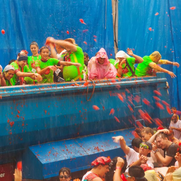 drifters guide Spain Tomatina Festival Experience