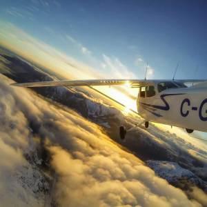 Cessna Airplane Piloting Tour Kiev