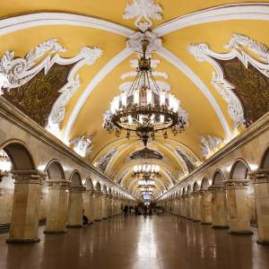 Moscow Underground Food Tour