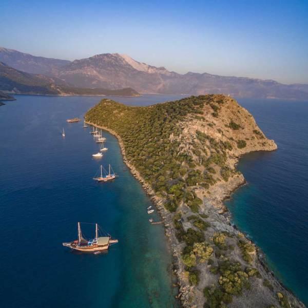 boat trip fethiye