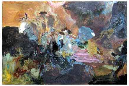 Anthropocene IV (fractured atlas), 2013