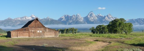 Grand Teton backdrop