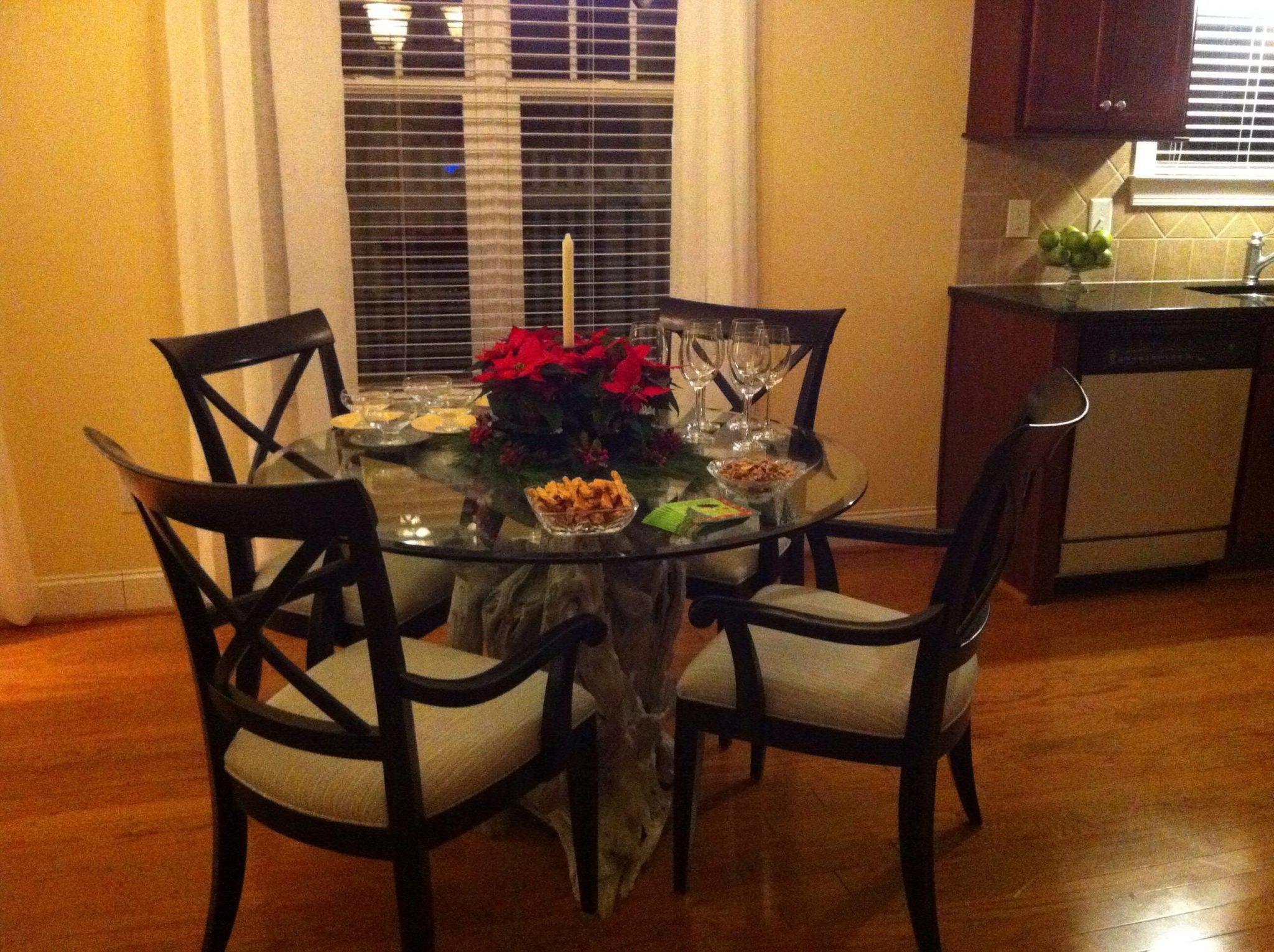 North Carolina driftwood dining table