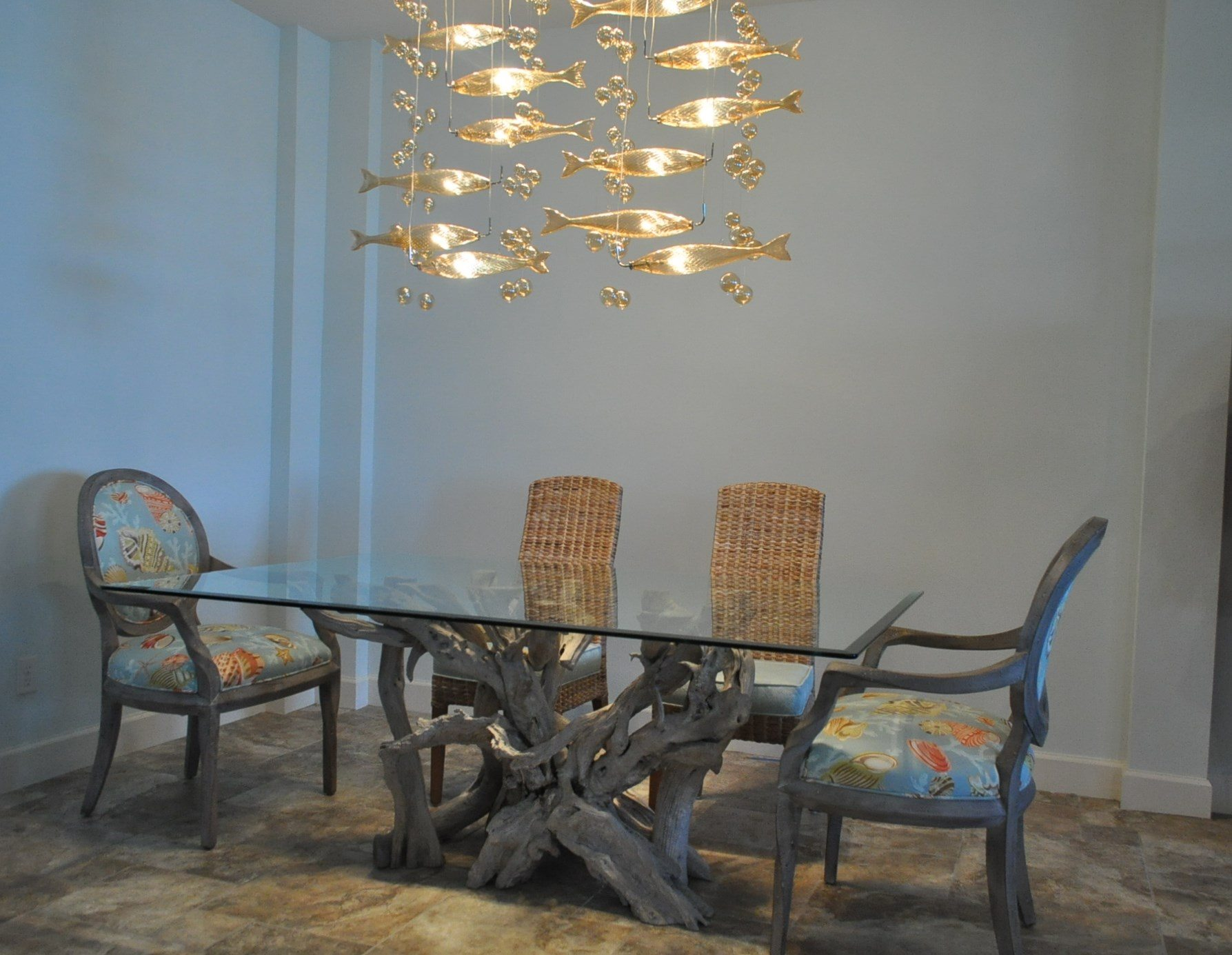 I Just Returned From Delivering A Driftwood Dining Table To Customers New Home In Lakewood Ranch Community Near Sarasota Fl Several Months Ago They