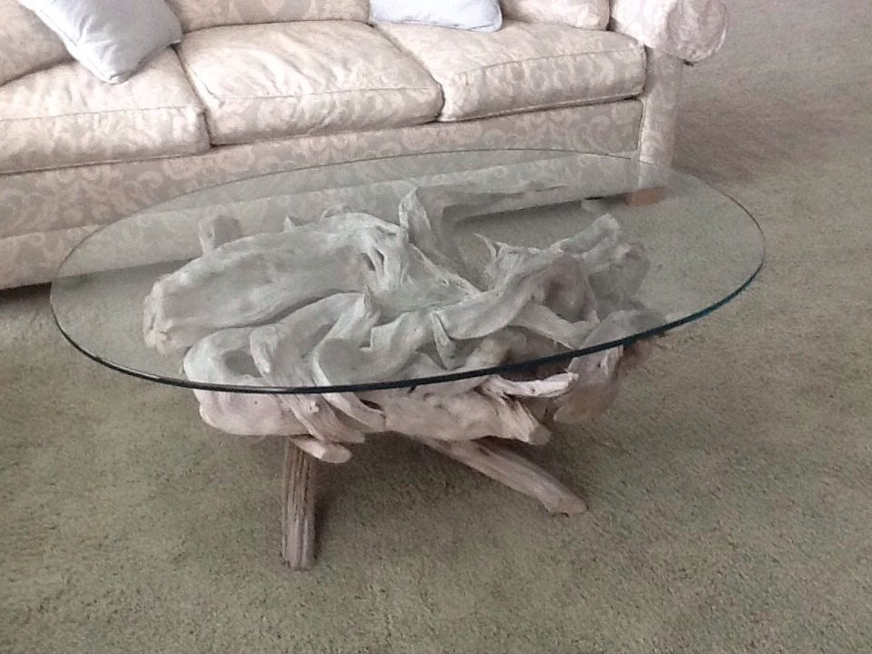 Maine Driftwood Coffee Table Driftwood Decor