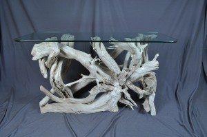 driftwood sofa/foyer table