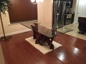 driftwood-glass-dining -table