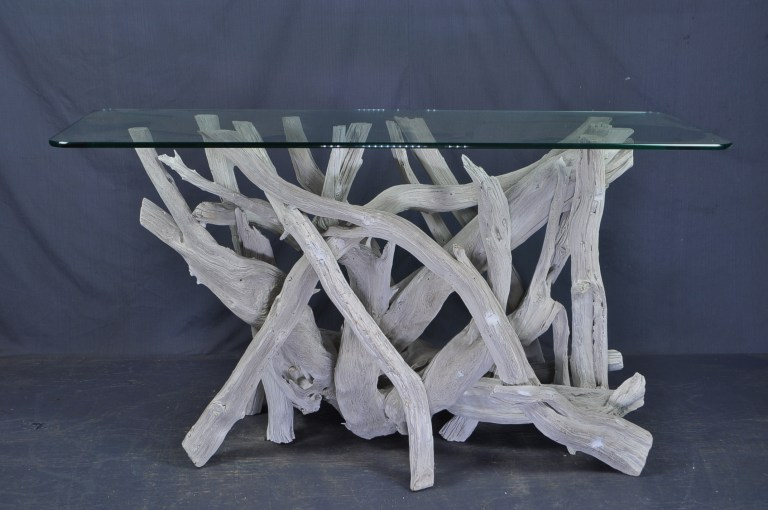 driftwood-glass-entry table