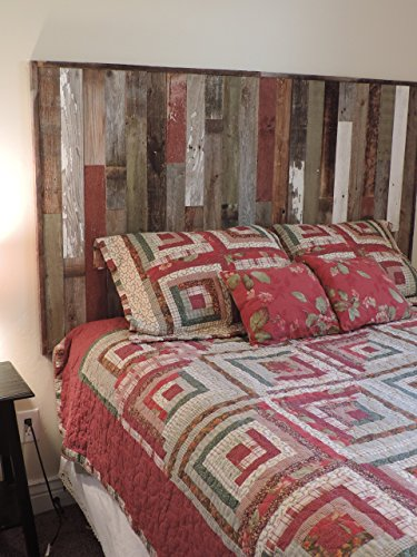 Reclaimed Wood Headboard Panel For King Bed 825 X 375