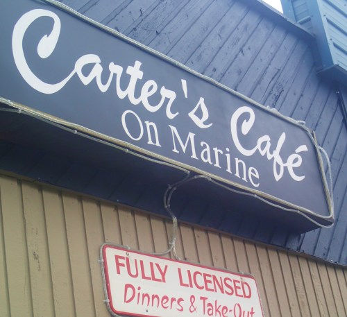 Carter's Café. Great food served by lovely people.