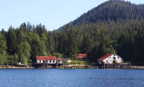 The cannery, old Bella Bella