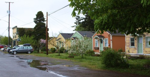 The whole town of old Port Hadlock